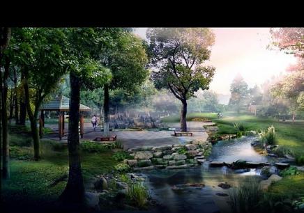 园林景观效果图设计班