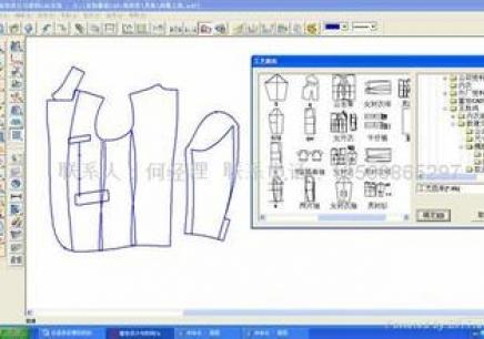 河南服装设计cad_郑州服装电脑cad短期班