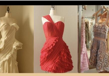 立体婚纱的折法图解