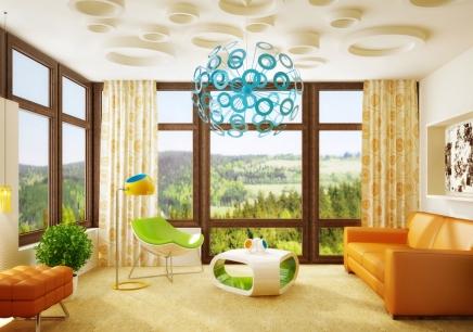 3d瓷砖玄光欧式效果图