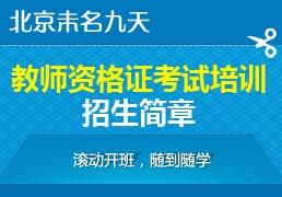 北京教师证考试培训精品班