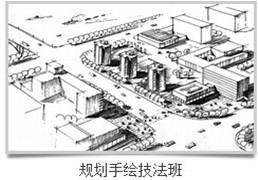 武汉城市规划手绘技法班