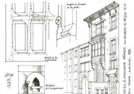 复试楼建筑内部结构图