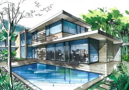 哈尔滨建筑手绘培训
