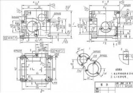 实战二:液压泵缸底图片