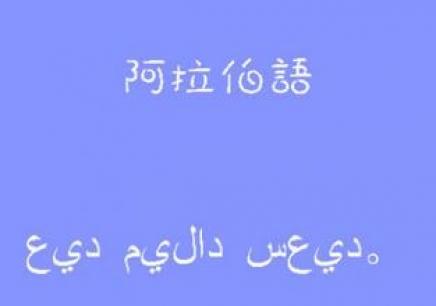 阿拉伯语高级一对一VIP