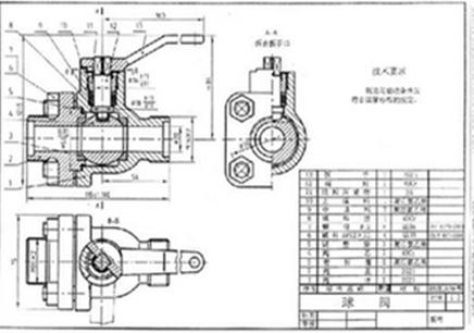 机械图纸尺寸标注