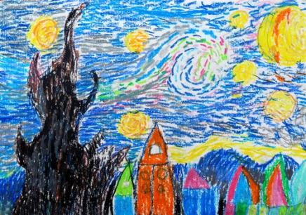 北京朝阳区儿童画画培训班找那家
