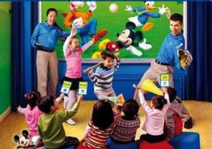 厦门迪士尼幼儿英语启蒙教育