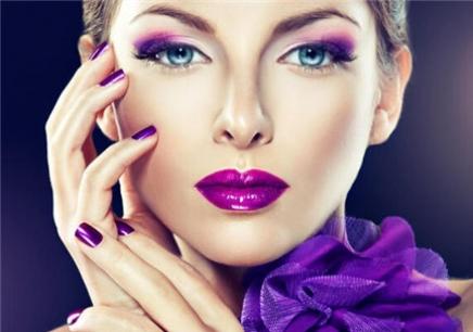 化妆眼影搭配图片