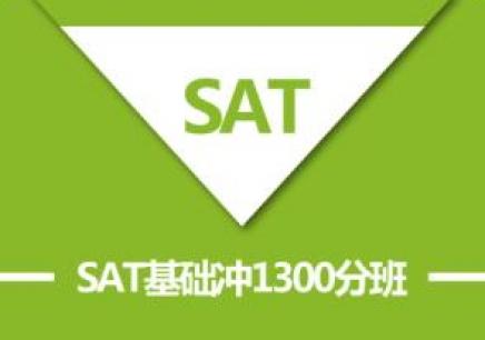 SAT基础冲1300分班(A B)