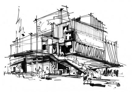 合肥建筑手绘班
