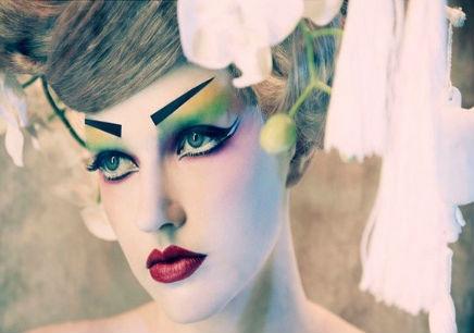 影视化妆造型;影楼新娘化妆造型;t台创意化妆;立体矫