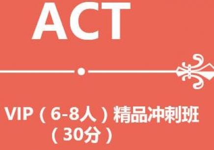 ACT VIP冲刺班 南京