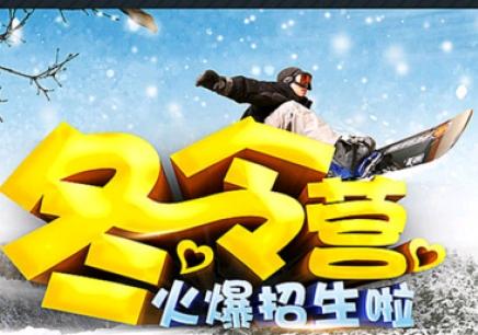 """大连冬令营""""林海雪原""""滑雪拓展冬令营(双板一级)"""
