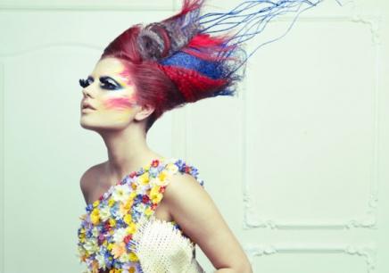 时尚彩妆造型a班图片