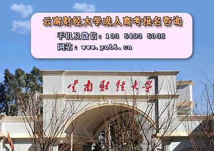 云南财经大学成人高考报名