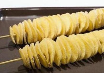 韩国旋风薯塔