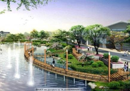 厦门3D园林景观效果