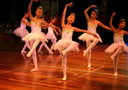 少儿舞蹈班主要以舞蹈基本功训练