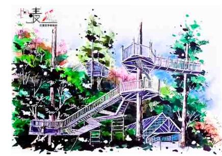 景观园林手绘