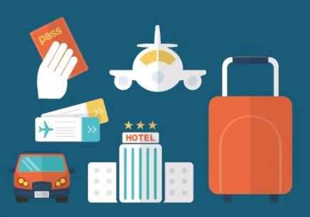 旅游公司职位结构图