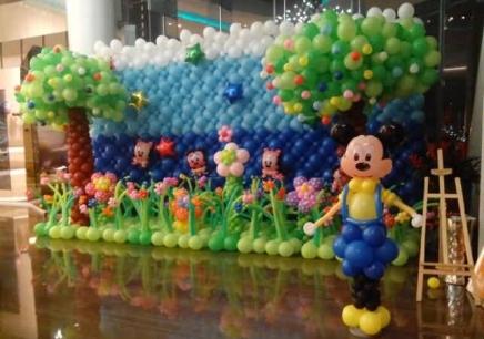 南京多彩气球布置培训班