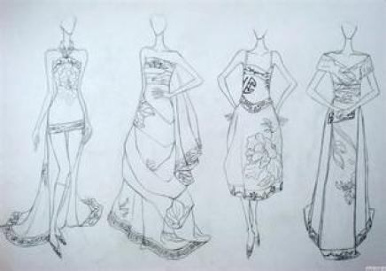 服装设计手绘班