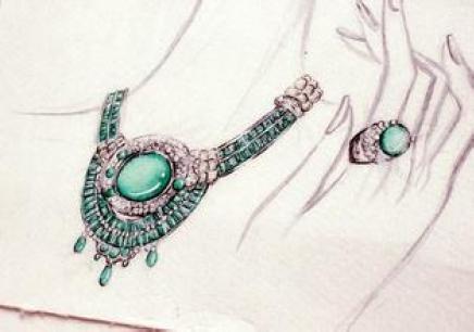 珠宝设计手绘班