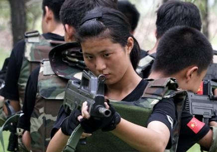 北京特种兵训练营_军事夏令营