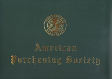 注册职业采购经理(CPPM)认证
