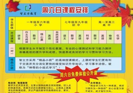 上海中小学课外辅导班