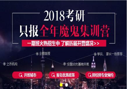 2018魔鬼集训全年一期标准班【经济金融】
