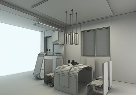 室内设计CAD施工图、3D效果图套餐班