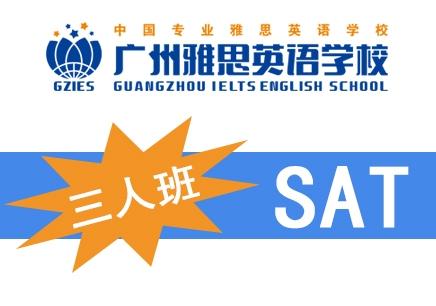 广州雅思SAT-VIP3人托管周末班