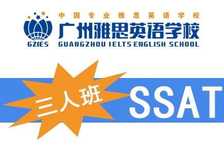 广州雅思SSAT精品3人班