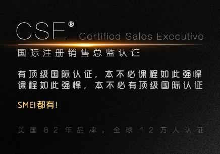 注册销售总监CSE认证培训