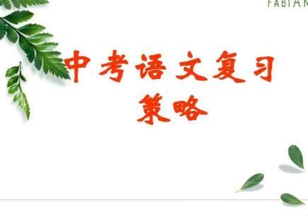 台州初三语文学习