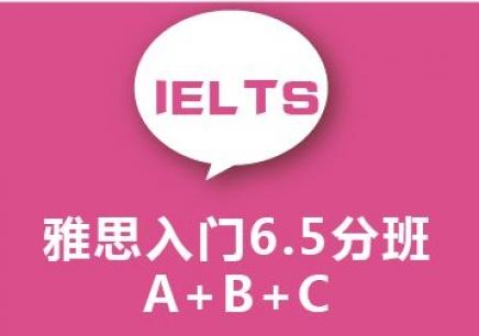 绍兴雅思入门冲6.5分班(A B C)