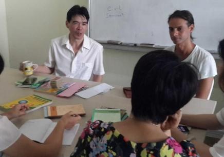 哈尔滨业余制英语全外教口语中级班