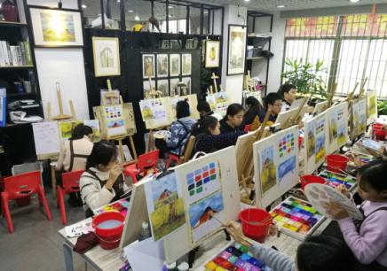 深圳红岭北美术兴趣班