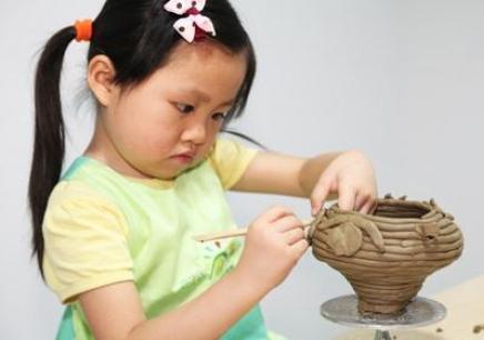 绍兴少儿陶艺专业学习班