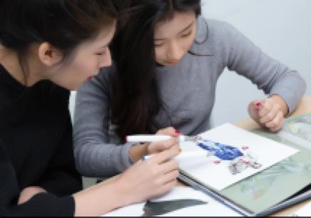 上海服装手绘效果图培训班