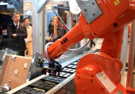 重庆学工业机器人