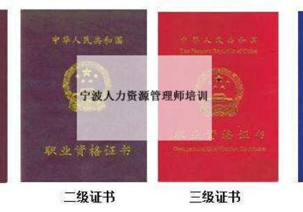 宁波人力资源管理师考证培训