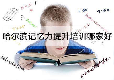 哈尔滨哪里可以培训孩子的记忆力?