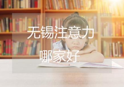 无锡孩子注意力训练手册