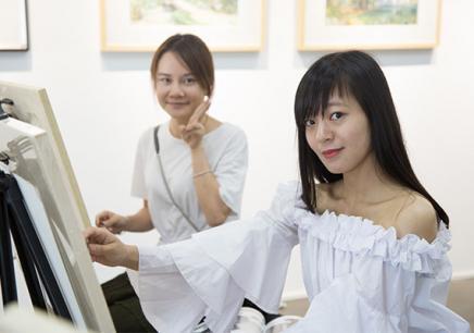 广州水彩零基础美术培训兴趣班