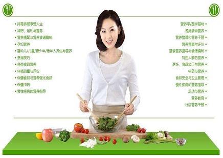 营养师膳食营养搭配高级营养师专业培训