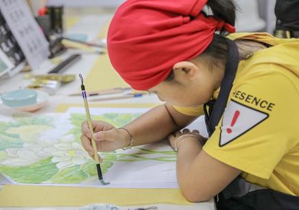 5-15岁国画书法班